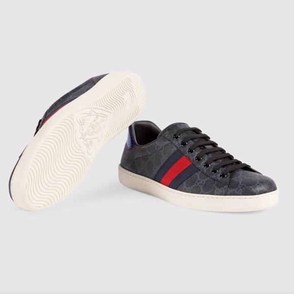 562042247f Ace GG Supreme sneaker GUCCI SIZE 09 NWT